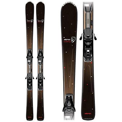 Salomon Origins Lava Womens Skis with L9 B80 Bindings, , large