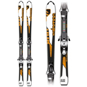 Salomon Enduro 800 S Kids Skis with C5 Bindings 2013, , medium