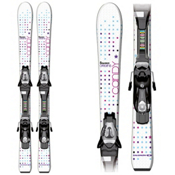 Salomon Candy S Kids Skis with C5 Bindings 2013, , medium