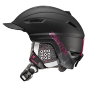Salomon Poison Womens Helmet 2013, Black Matt, medium