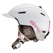 Salomon Poison Womens Helmet 2013, White Matt, medium