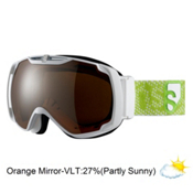 Salomon Xtend Xcite8 Goggles 2013, White-Universal, medium
