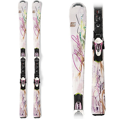 Nordica Drive Ca Evo Womens Skis with EVO Nsport Bindings, , large