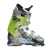 Nordica Hell and Back Hike Exp Ski Boots 2013, Anthracite-Acid Green, medium