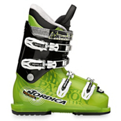Nordica Patron Team Kids Ski Boots 2013, TR Green-Black, medium