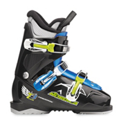 Nordica FireArrow Team 3 Kids Ski Boots 2014, Black-Light Blue, medium