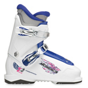 Nordica FireArrow Team 2 Girls Ski Boots, White-Blue, medium