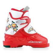 Nordica Nordy Kids Ski Boots, Red, medium