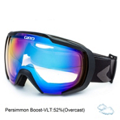 Giro Onset Goggles, Black Icon-Persimmon Boost, medium