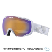 Giro Onset Goggles, White Icon-Persimmon Boost, medium