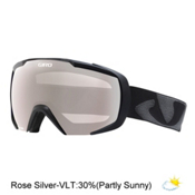 Giro Onset Goggles, Black Icon-Rose Silver, medium