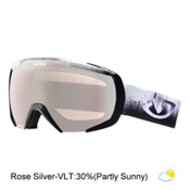 Giro Onset Goggles, Black Emulsion-Rose Silver, medium