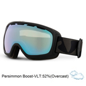 Giro Basis Goggles, Black Icon-Persimmon Boost, medium