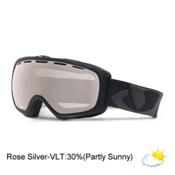 Giro Basis Goggles, Black Icon-Rose Silver, medium
