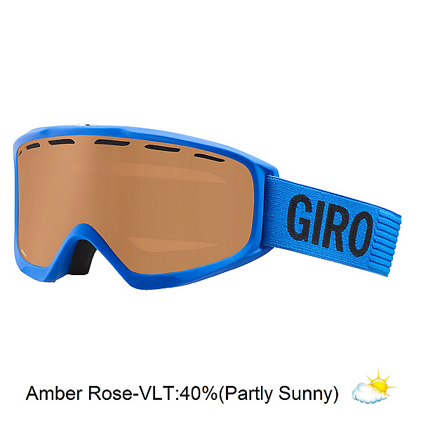 Giro Index OTG Goggles, Blue Monotone-Amber Rose, 600