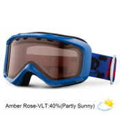 Giro Grade Kids Goggles 2013, Blue Paul Frank Bolts-Amber Rose 40, medium