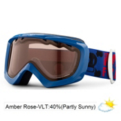 Giro Chico Kids Goggles 2013, Blue Paul Frank Bolts-Amber Rose 40, medium