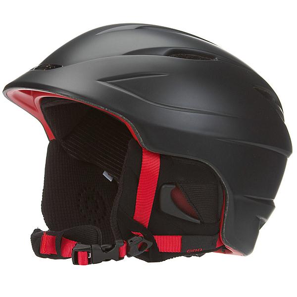 Giro Seam Helmet 2017, Matte Black-Bright Red, 600