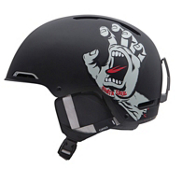 Giro Battle Helmet 2013, Matte Black Santa Cruz Screaming Hand, medium
