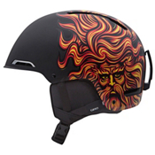 Giro Battle Helmet 2013, Matte Black Santacruz Sungod, medium