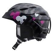 Giro Nine.10 Girls Helmet 2013, Black Heart Helix, medium