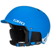 Giro Vault Kids Helmet, Matte Blue Rocksteady, medium