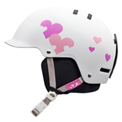 Giro Vault Girls Helmet 2013, White Heart Helix, medium