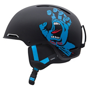 Giro Rove Kids Helmet 2013, Matte Black Santa Cruz Screaming Hand, medium