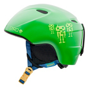 Giro Slingshot Kids Helmet 2013, Green Goggle Bot, medium