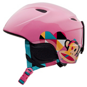 Giro Slingshot Girls Helmet 2013, Pink Paul Frank Mod, medium