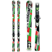 Elan RCG Waveflex Junior Race Skis with ER 11 Free Flex Pro Bindings 2013, , medium