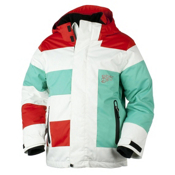 Obermeyer Renegade Boys Ski Jacket, Powder, medium