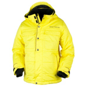 Obermeyer Bommer Boys Ski Jacket, Acid Yellow, medium