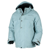 Obermeyer Bommer Boys Ski Jacket, Bondi Blue, medium