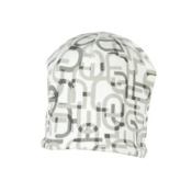 Obermeyer Scrambled Kids Hat, White, medium