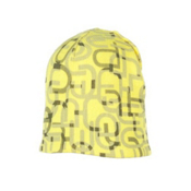 Obermeyer Scrambled Kids Hat, Acid Yellow, medium