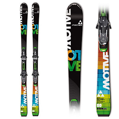 Fischer Motive 80 Skis with RSX 12 Bindings, , large