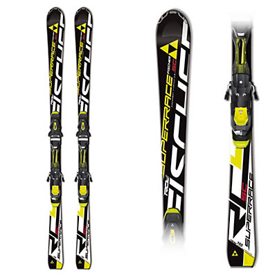 Fischer RC4 Superrace SC Race Skis with RC4 Z 12 Powerrail Bindings, , large