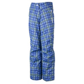 Obermeyer Brooke Girls Ski Pants, Provence Plaid, medium