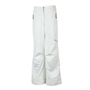 Obermeyer Brooke Girls Ski Pants, White, medium
