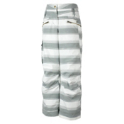 Obermeyer Twilight Girls Ski Pants, Quarry Stripe Jacquard, medium
