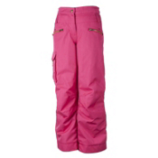 Obermeyer Twilight Girls Ski Pants, Hibiscus, medium