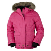 Obermeyer Bombdiggity Girls Ski Jacket, Hibiscus, medium