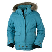 Obermeyer Bombdiggity Girls Ski Jacket, Jewel, medium