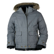 Obermeyer Bombdiggity Girls Ski Jacket, Basalt Denim, medium