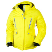 Obermeyer Stella Girls Ski Jacket, Maize, medium