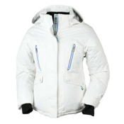 Obermeyer Stella Girls Ski Jacket, White, medium