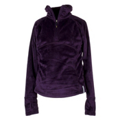 Obermeyer Furry Kids Midlayer, Plum, medium
