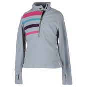 Obermeyer Regatta Fleece Top Kids Midlayer, Quarry, medium