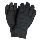 Obermeyer Alpine Girls Gloves, Black, medium
